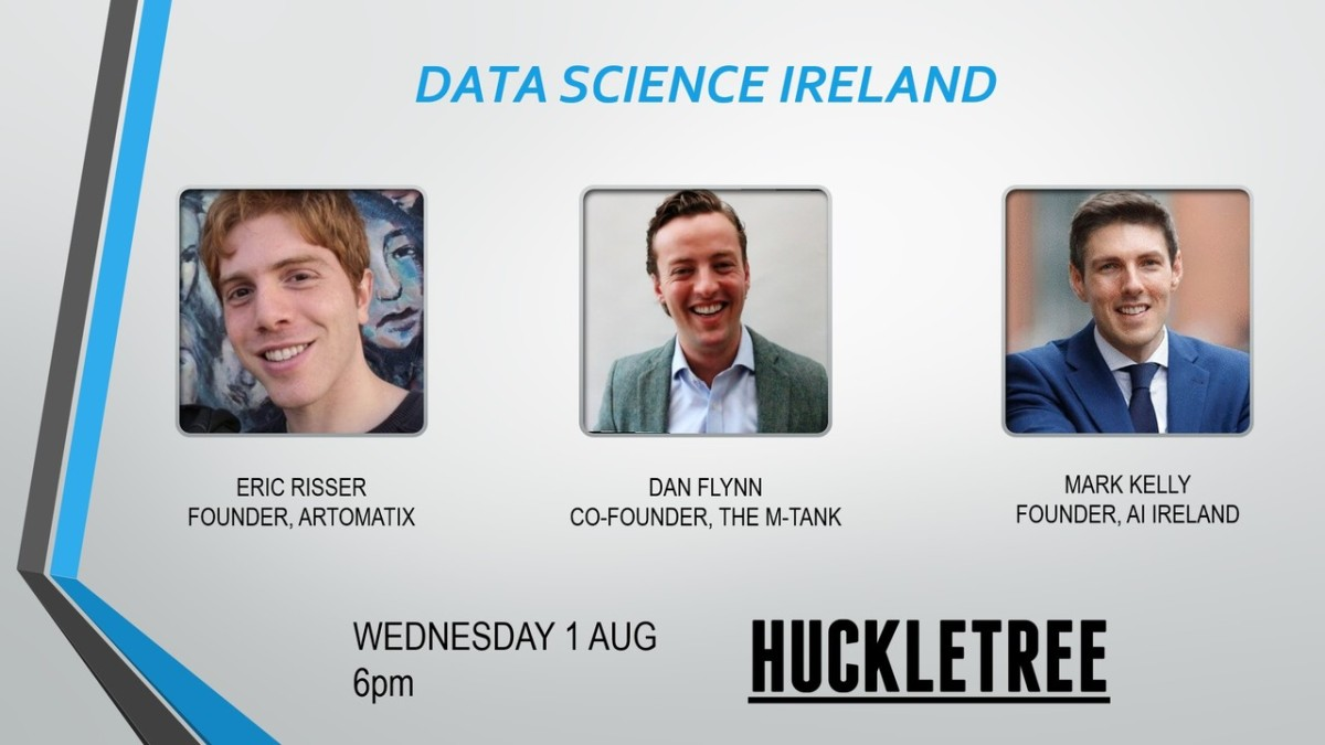 Register now for our August Data Science Ireland Meetup
