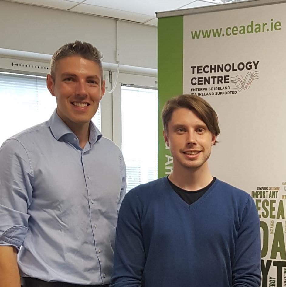 E14 David Haughton, Senior Data Scientist with CeADARIreland