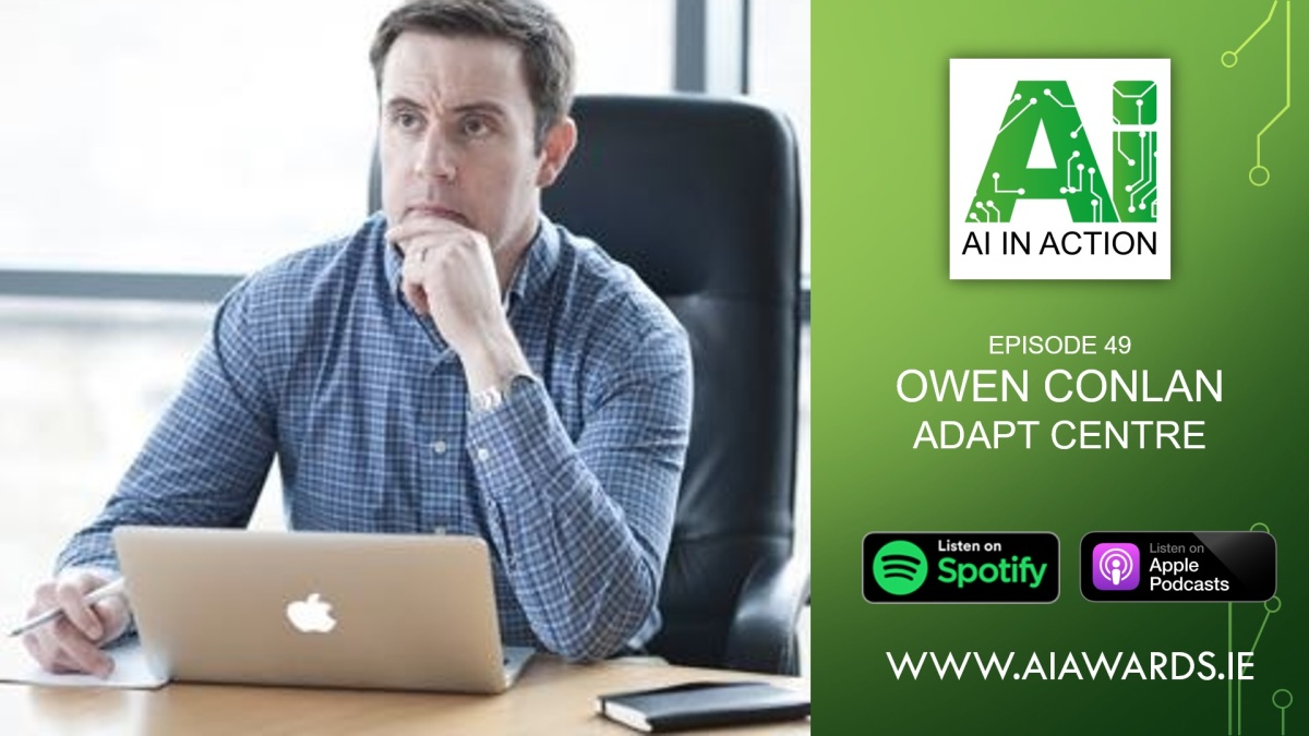 E49 Owen Conlan, Associate Professor at Trinity College Dublin & ADAPTCentre