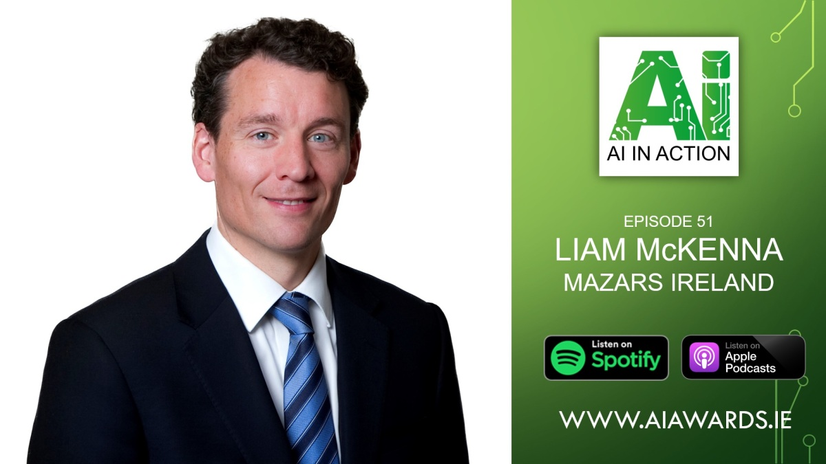 E51 Liam McKenna, Partner at Mazars Ireland
