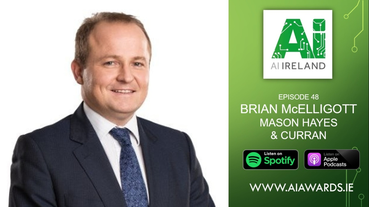 E48 Brian McElligott, Partner at Mason Hayes & Curran
