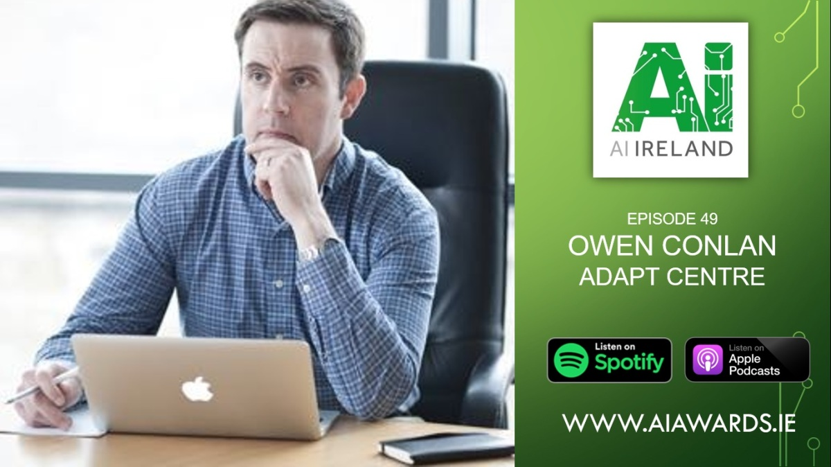 E49 Owen Conlan, Associate Professor at Trinity College Dublin & ADAPT Centre