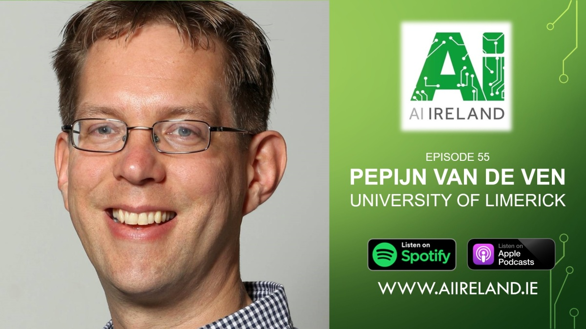 E55 Dr. Pepijn van de Ven, Senior Lecturer at University of Limerick