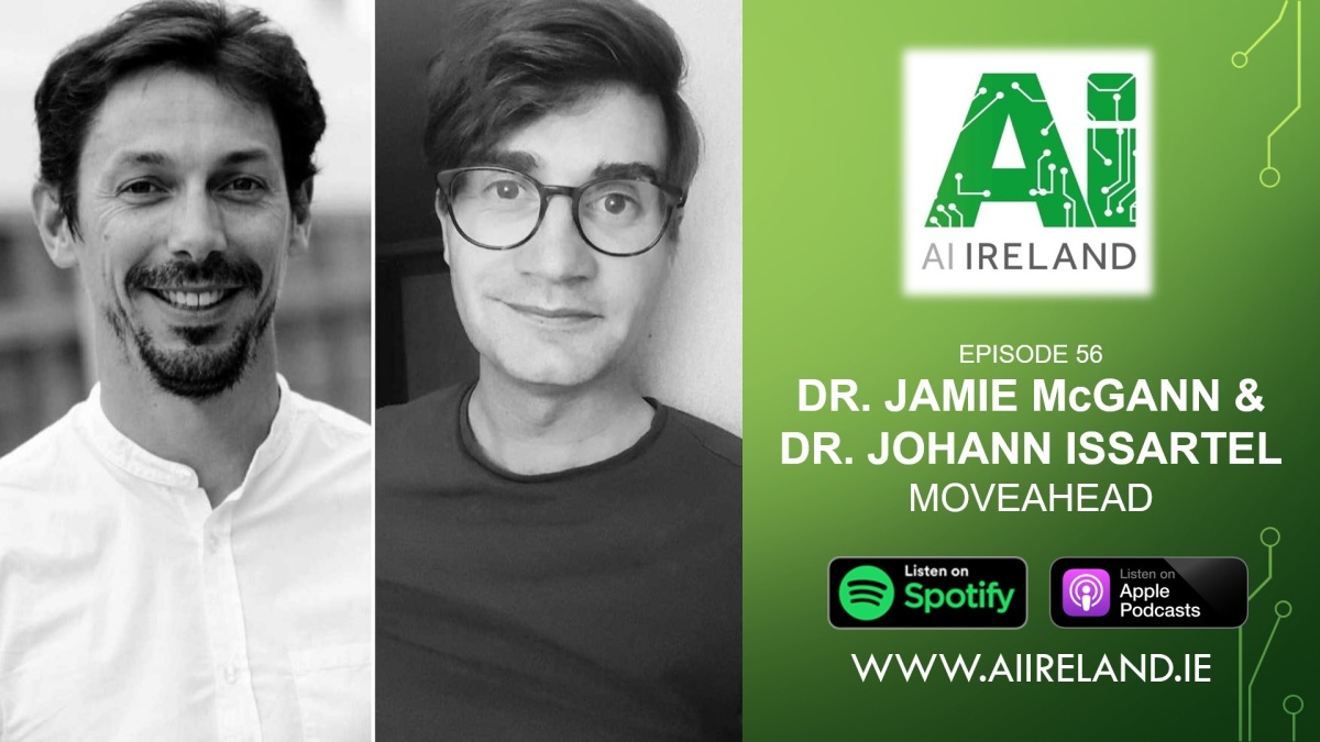 E56 Dr. Jamie McGann and Dr. Johann Issartel, Co-Founders at MoveAhead