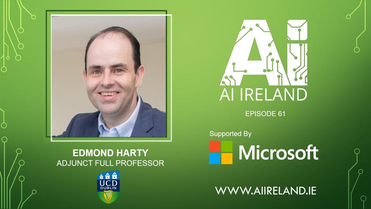 E61 Edmond Harty, UCD Adjunct Full Professor & former CEO atDairymaster
