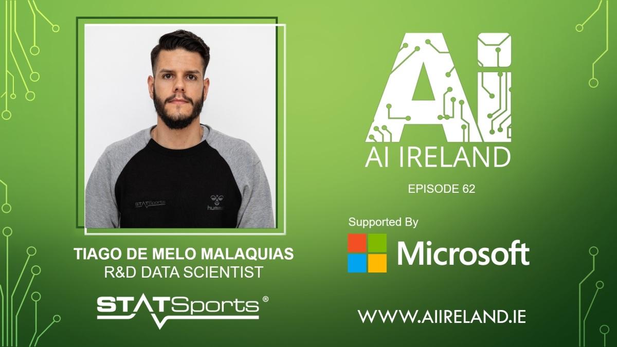 E62 Tiago de Melo Malaquias, R&D Data Scientist atSTATSports