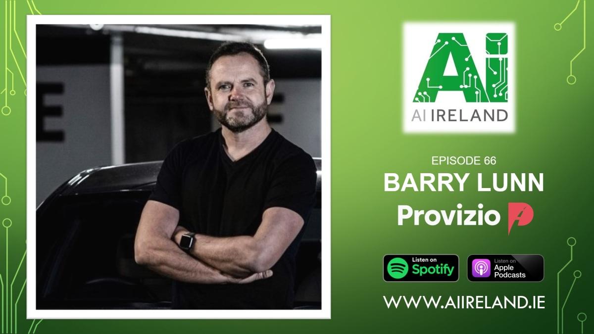 E66 Barry Lunn, Founder and CEO atProvizio