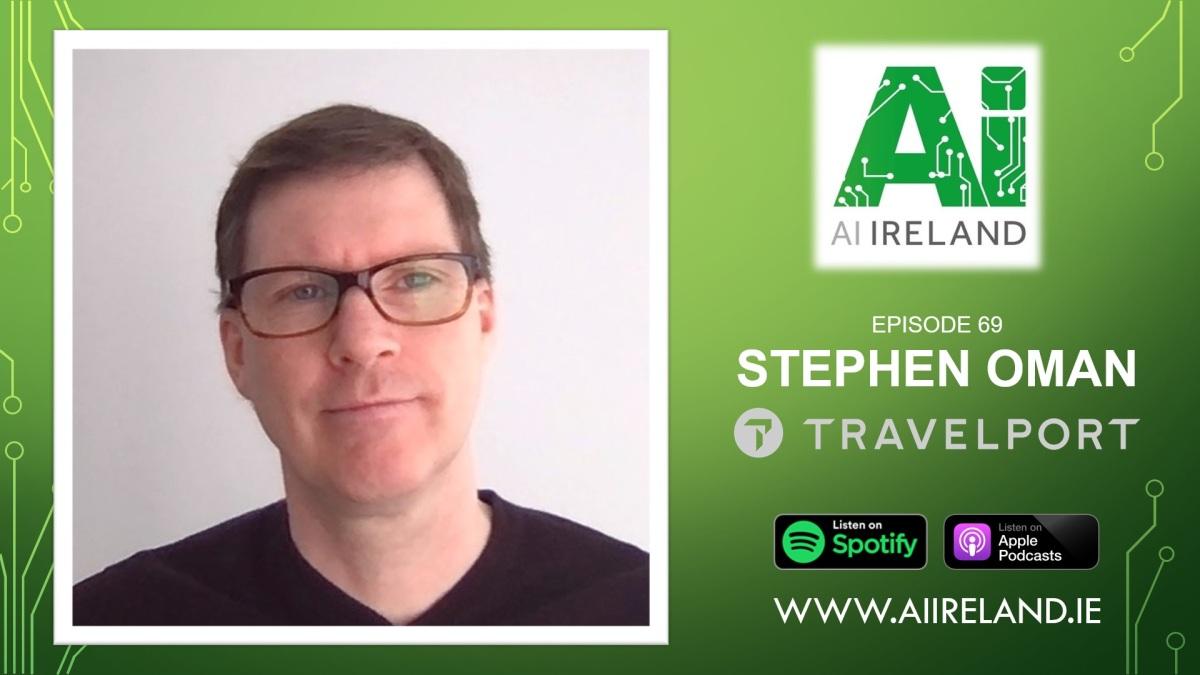 E69 Stephen Oman, Director of Data Analytics atTravelport
